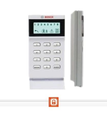 Teclado LCD de iconos 8 zonas marca Bosch